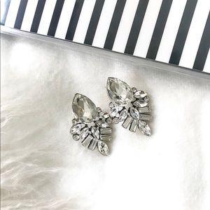 Jewelry - Statement Earrings - Tear Drop Crystal Earrings